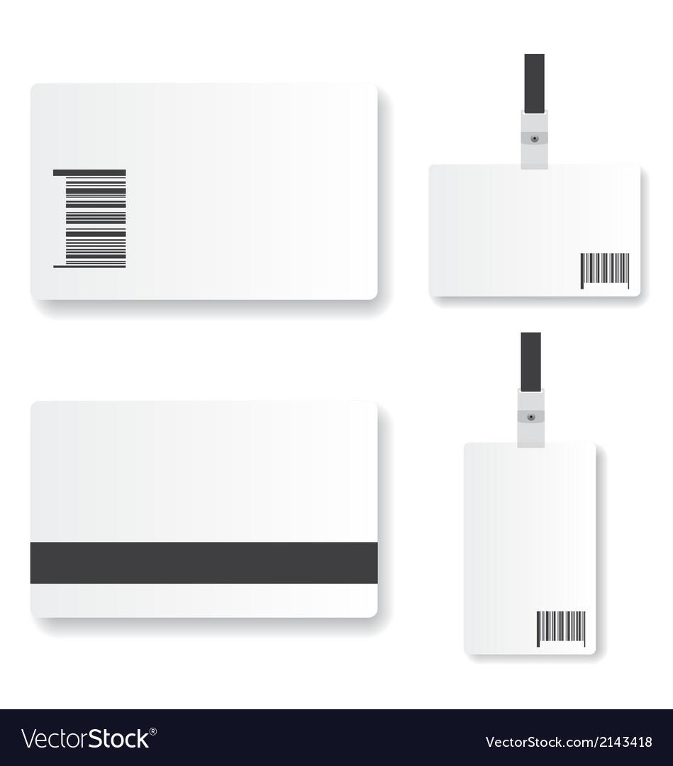 Blank id card vector   Price: 1 Credit (USD $1)