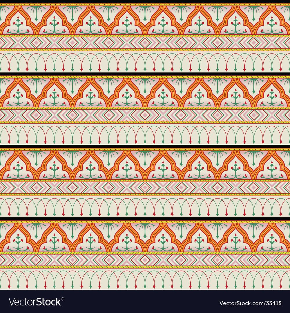 Botanic pattern vector | Price: 1 Credit (USD $1)