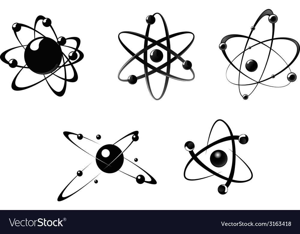 Science icons and symbols vector | Price: 1 Credit (USD $1)