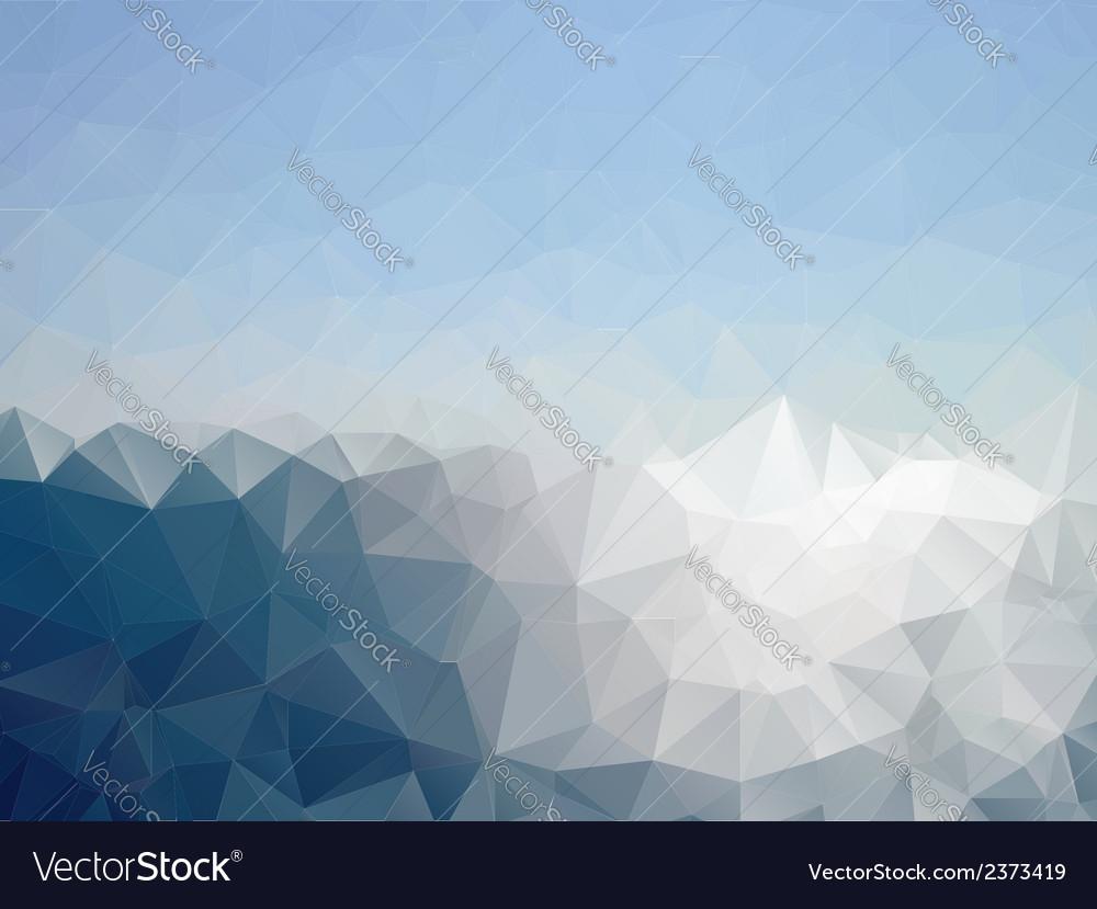 Mosaic sea vector | Price: 1 Credit (USD $1)
