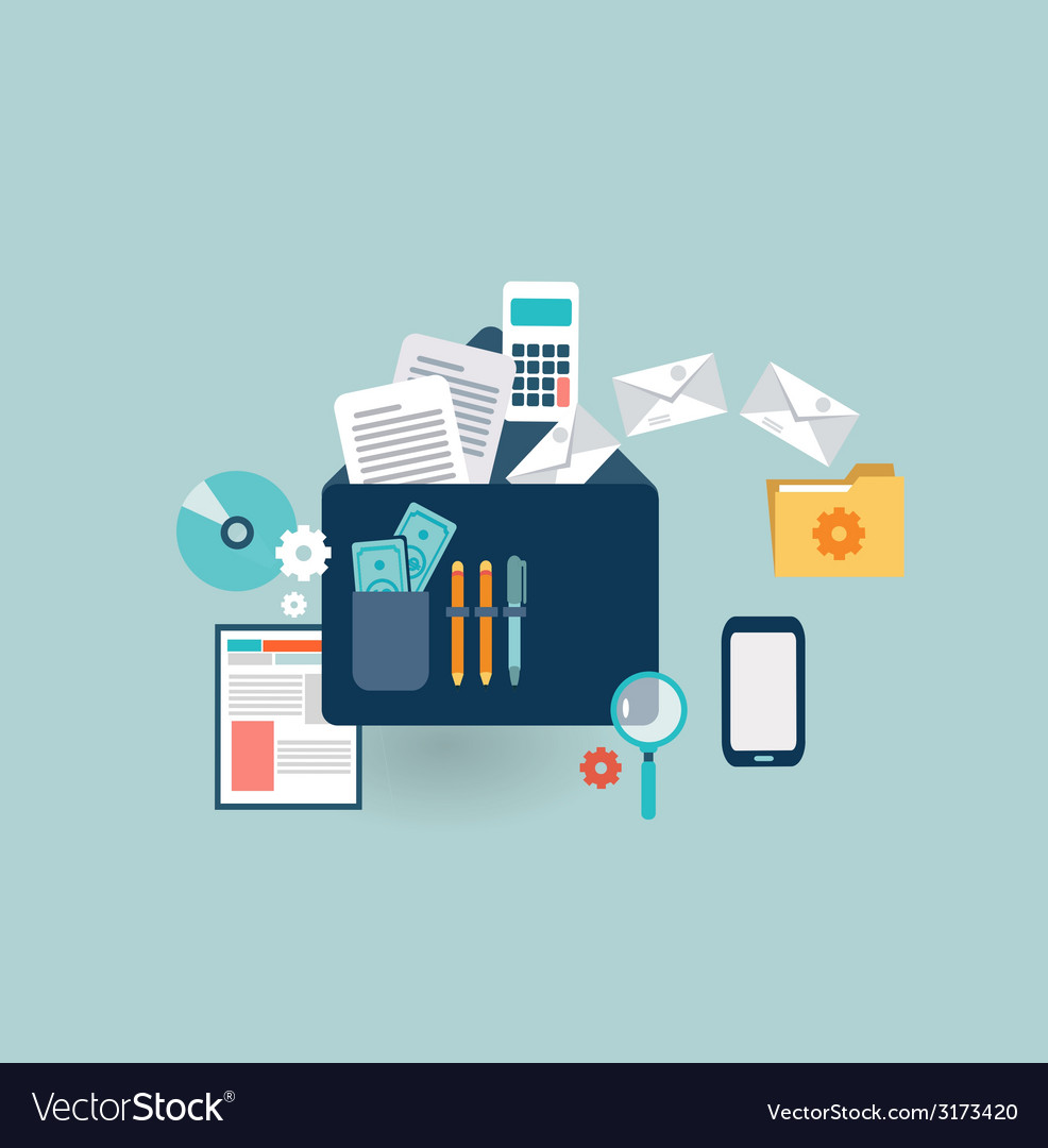Business briefcase icon vector   Price: 1 Credit (USD $1)