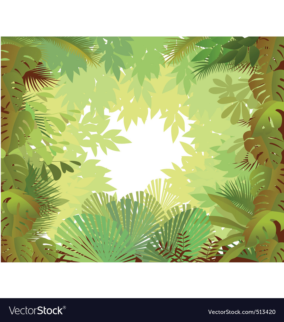 Forest background vector | Price: 1 Credit (USD $1)