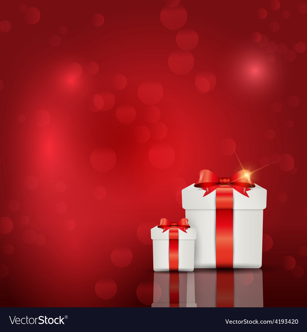 Gift box background vector | Price: 1 Credit (USD $1)
