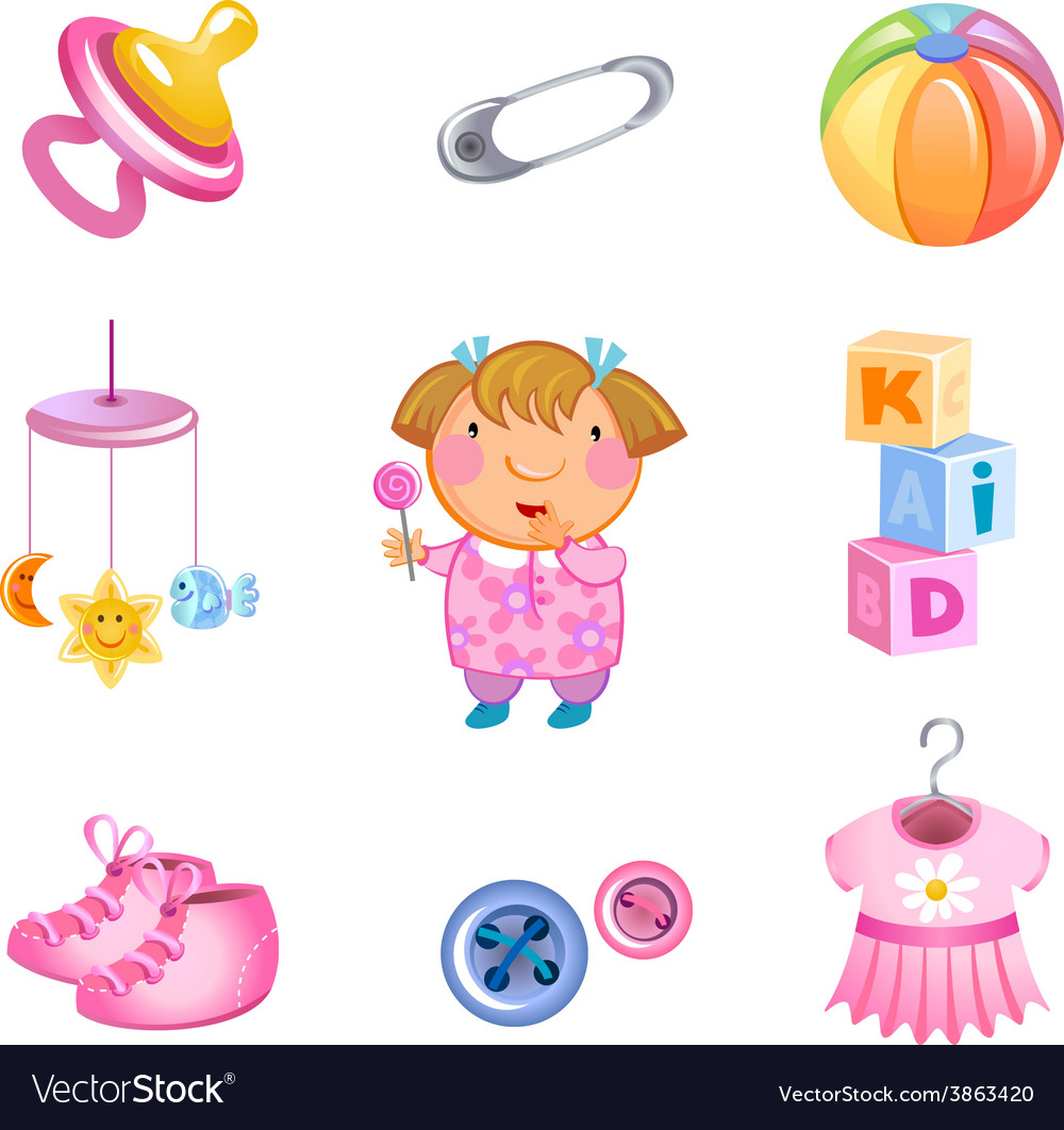 Toys and accessories vector | Price: 3 Credit (USD $3)