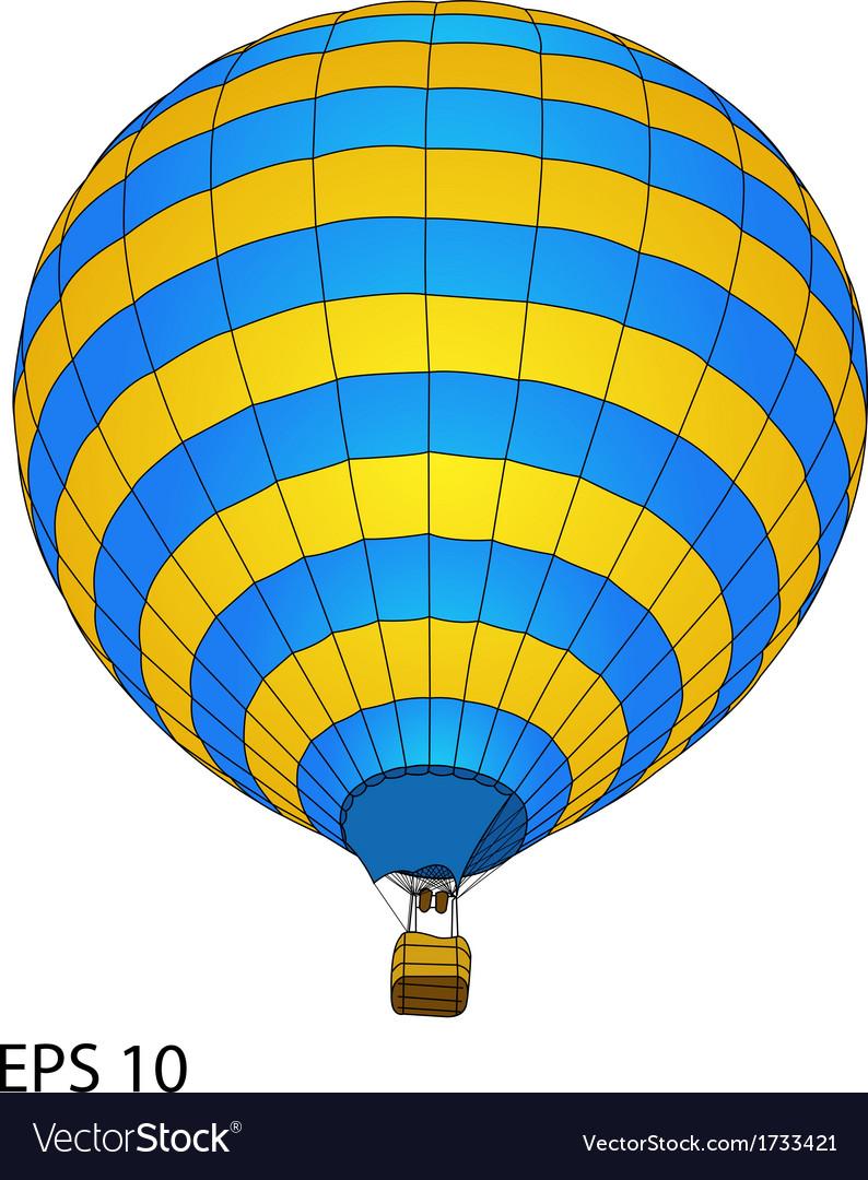 Balloon 04 color vector | Price: 1 Credit (USD $1)