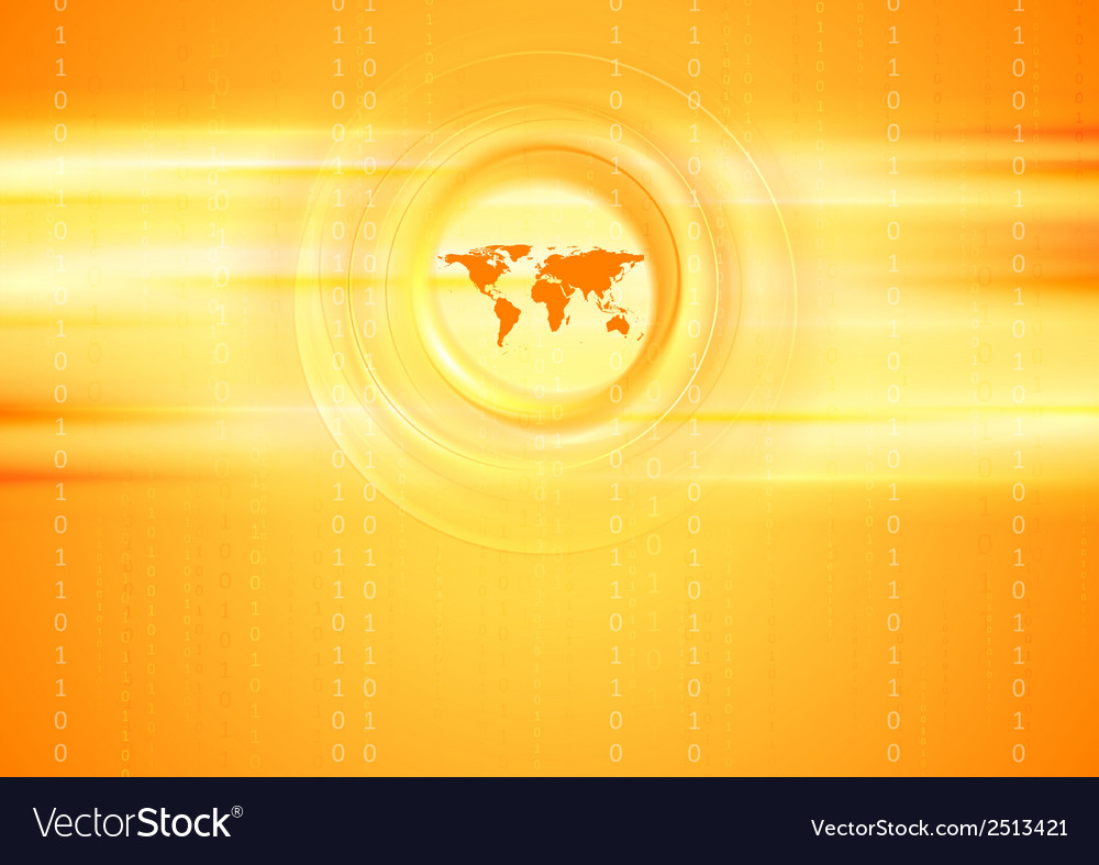 Bright tech abstract background vector | Price: 1 Credit (USD $1)