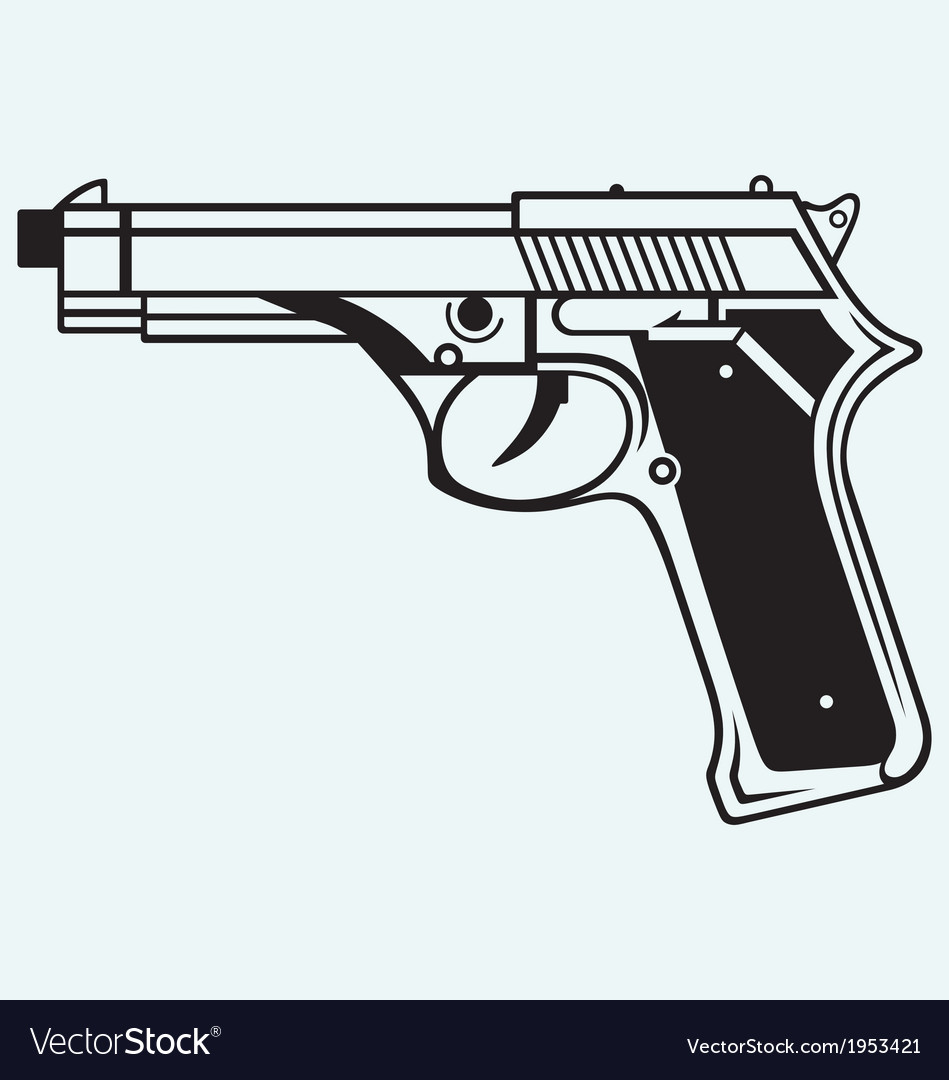Gun icon vector | Price: 1 Credit (USD $1)
