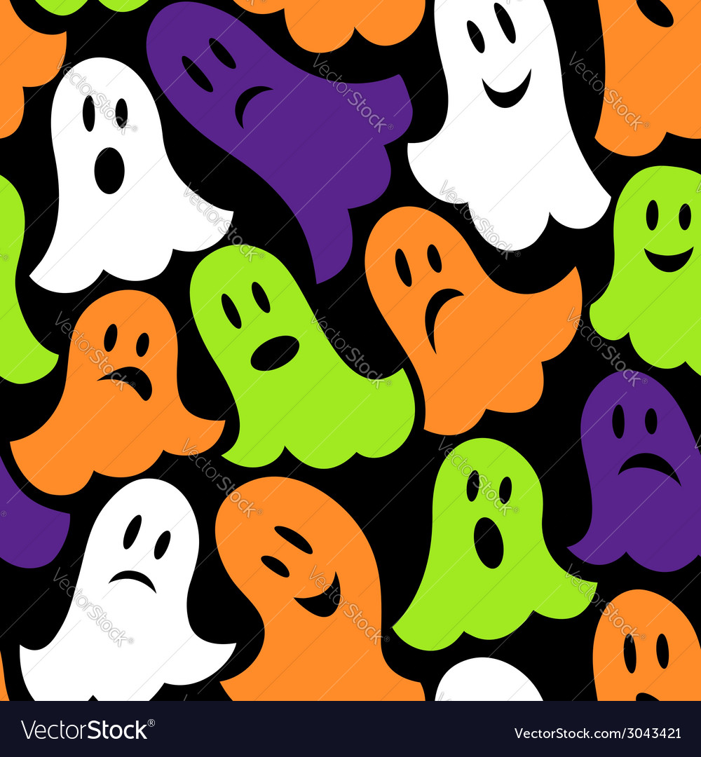 Halloween themed seamless vector | Price: 1 Credit (USD $1)