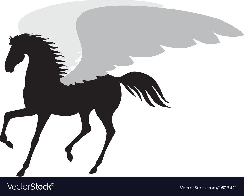 Horse wing vector | Price: 1 Credit (USD $1)