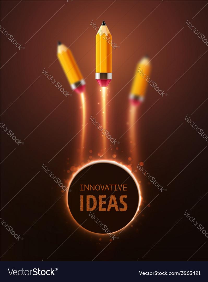Innovative ideas vector | Price: 1 Credit (USD $1)