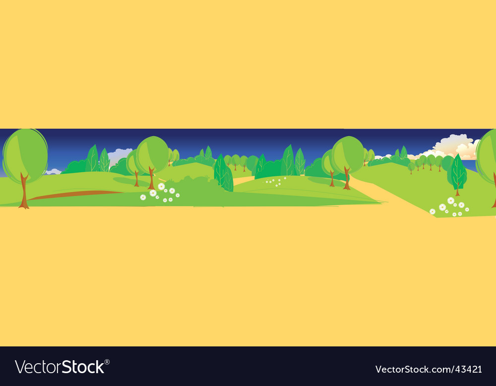 Park illustration vector | Price: 1 Credit (USD $1)