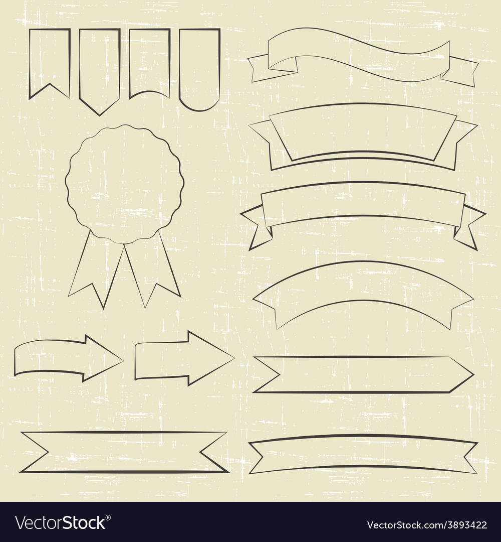 Contour icons vector | Price: 1 Credit (USD $1)