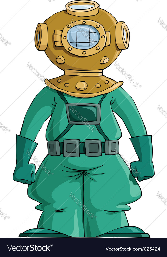 Diver vector | Price: 3 Credit (USD $3)