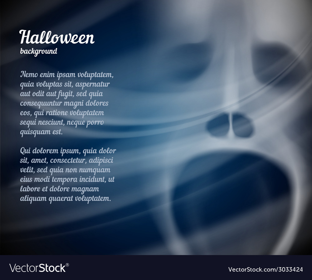 Halloween background with copyspace for text vector | Price: 1 Credit (USD $1)