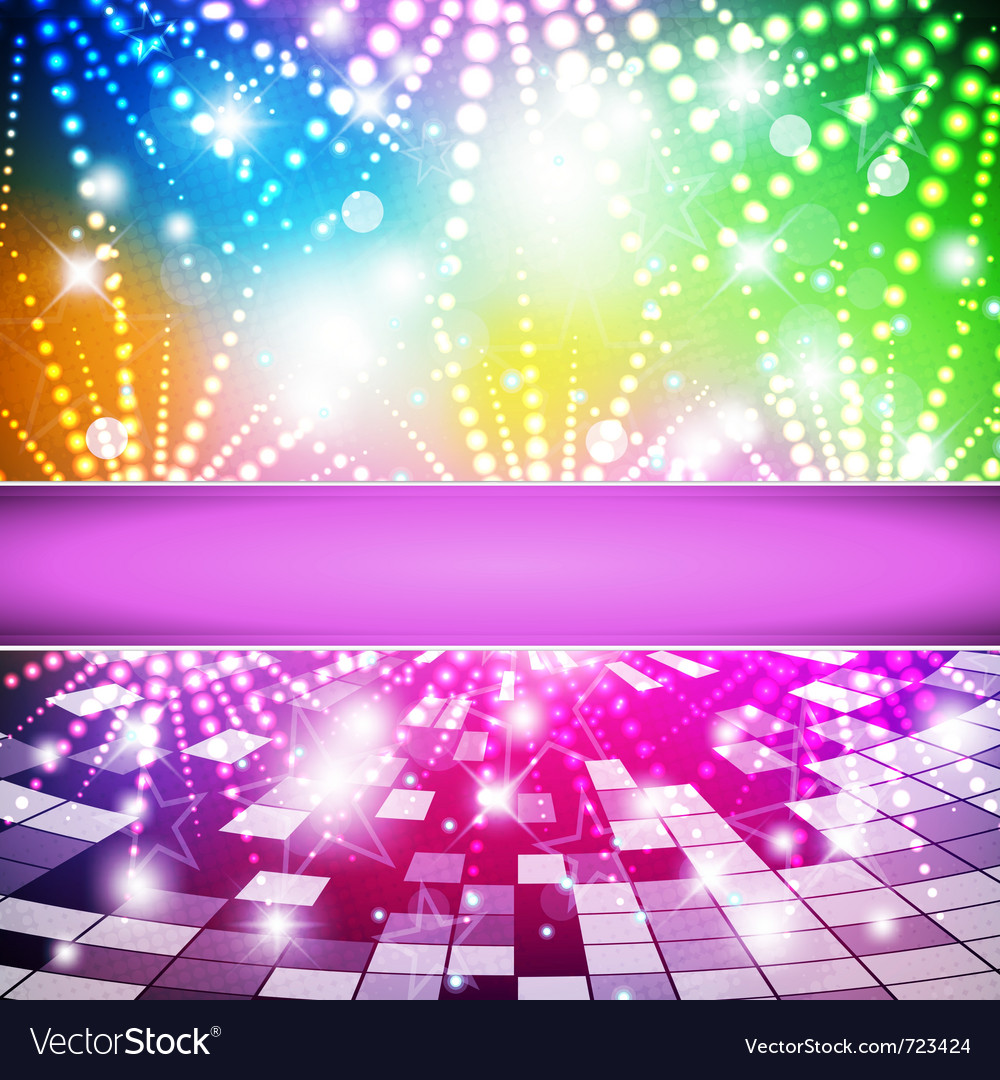 Rainbow-disco vector | Price: 1 Credit (USD $1)