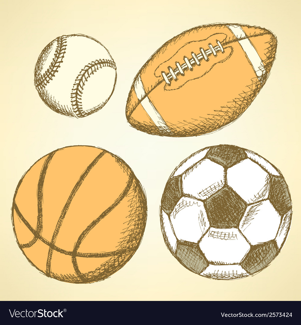 Us football ball basket vector | Price: 1 Credit (USD $1)