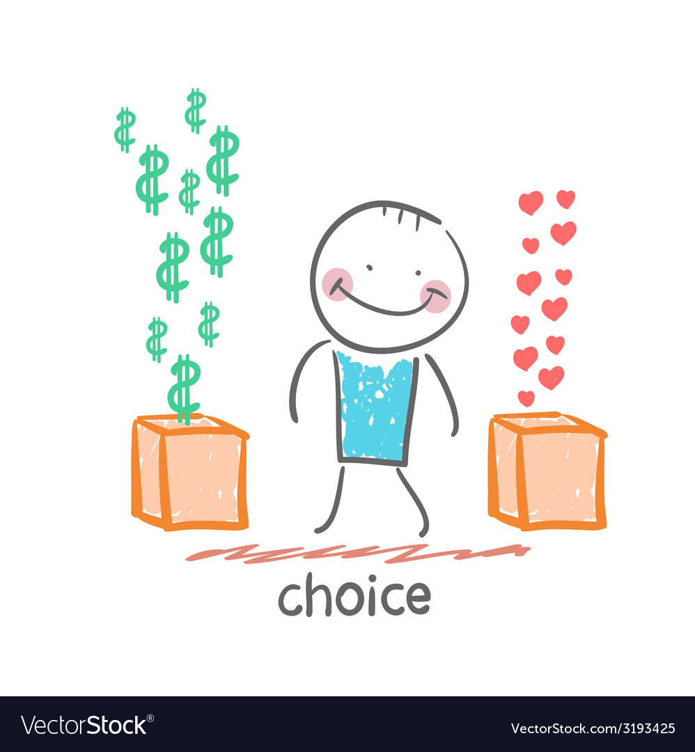 Choice vector | Price: 1 Credit (USD $1)