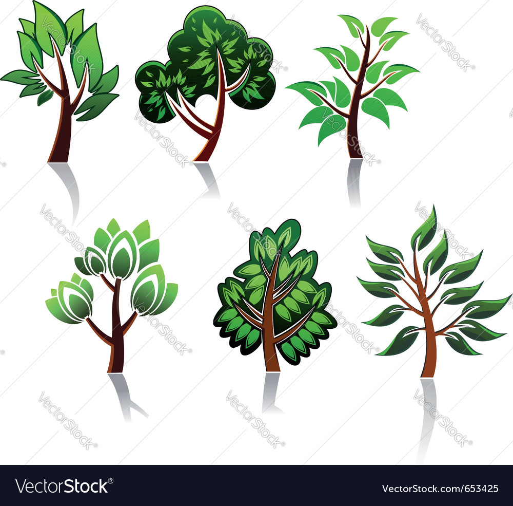 Ecology or environment logos vector | Price: 1 Credit (USD $1)