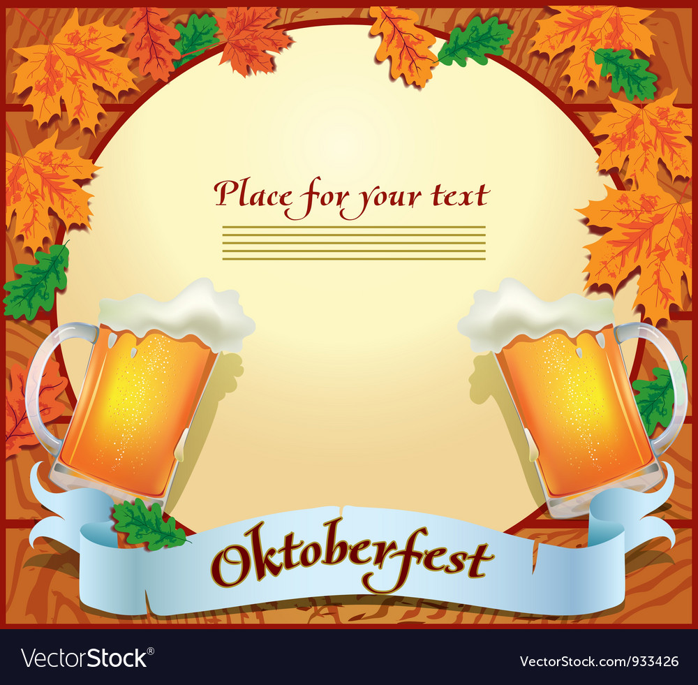 Banner octoberfest vector | Price: 3 Credit (USD $3)