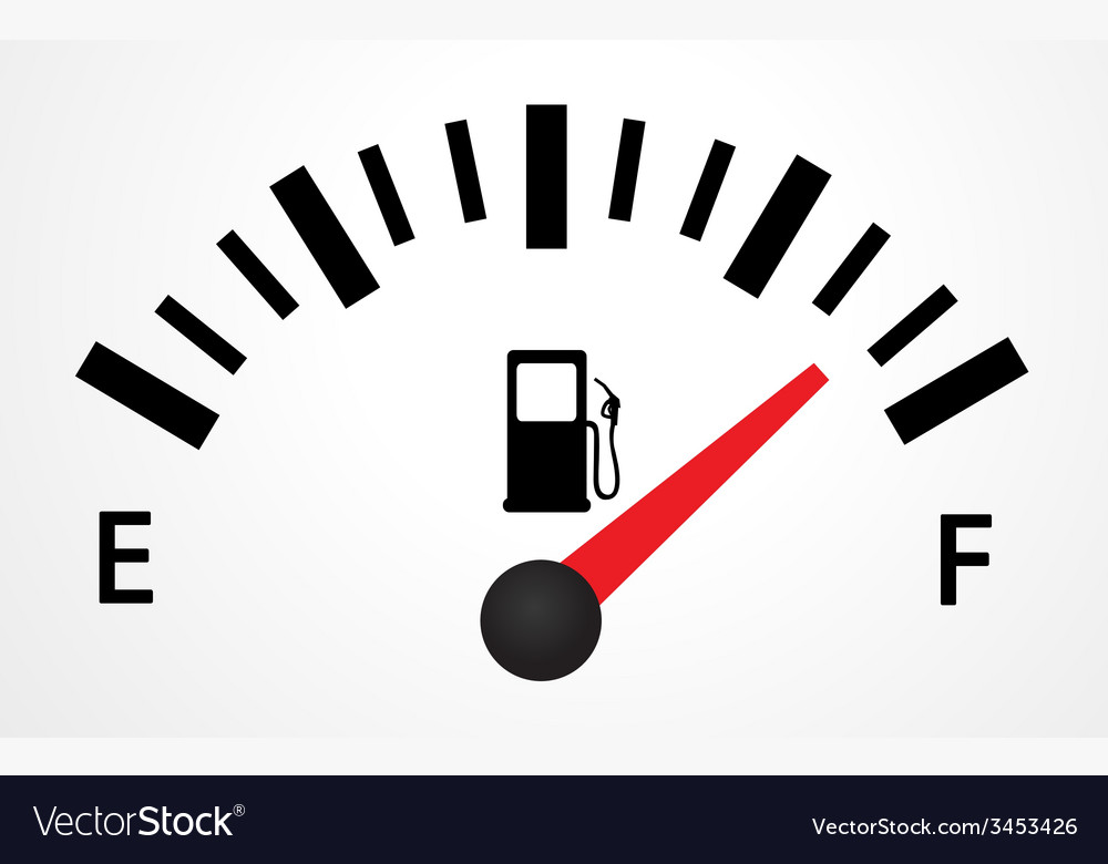 Fuel gauge design vector | Price: 1 Credit (USD $1)