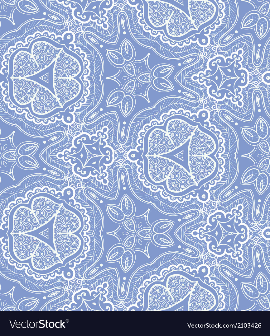 Lace seamless pattern vector | Price: 1 Credit (USD $1)