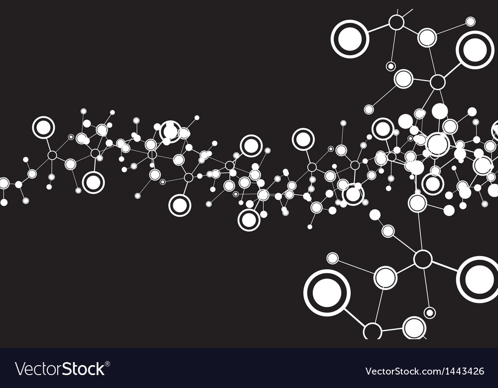 Molecule abstract vector | Price: 1 Credit (USD $1)
