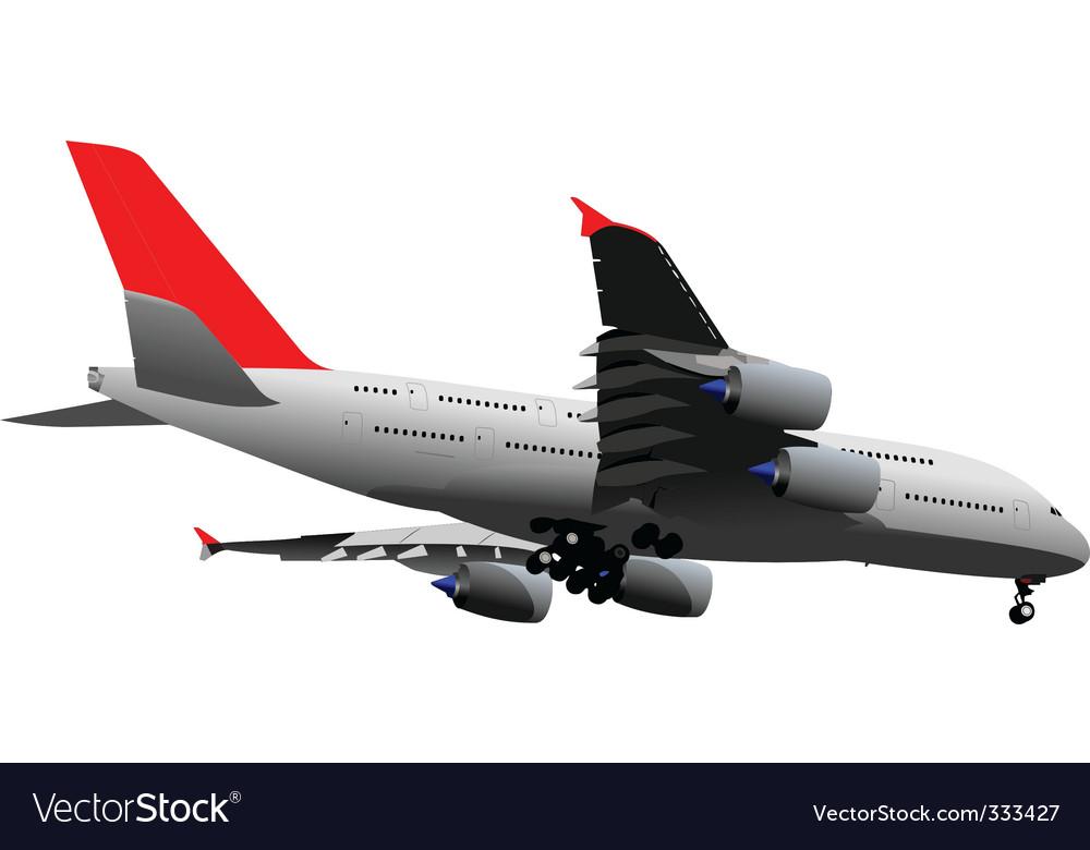 Aircraft vector | Price: 1 Credit (USD $1)