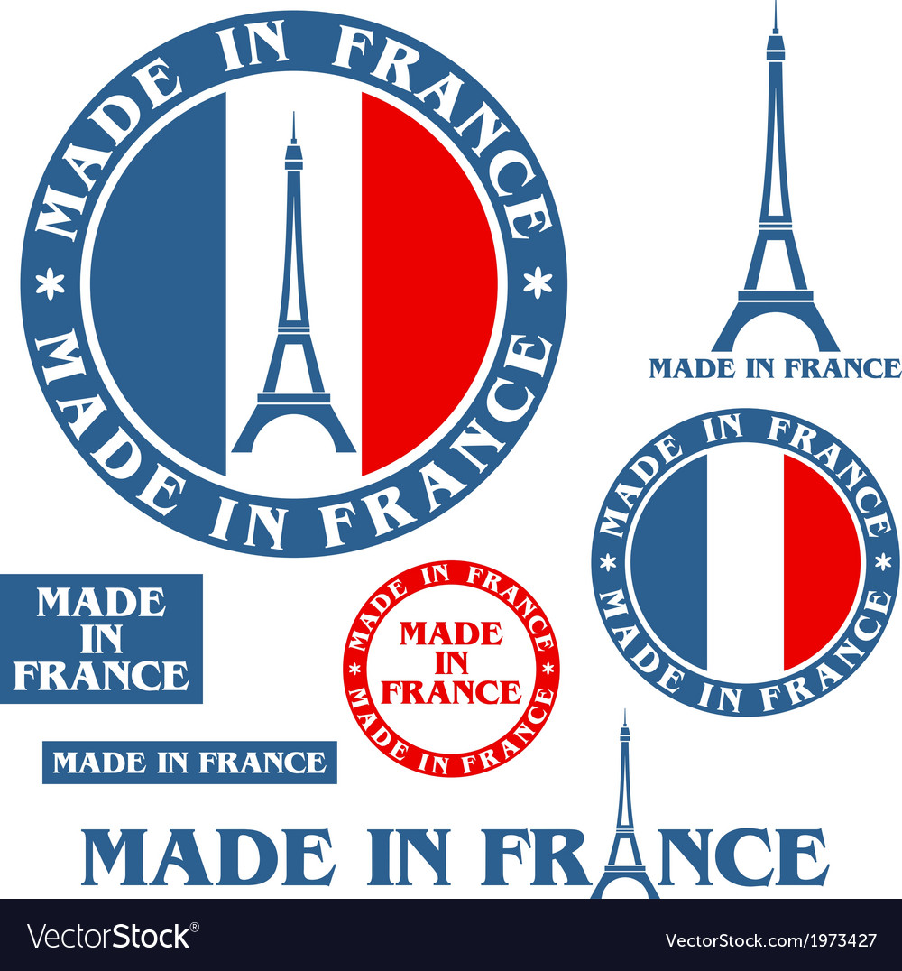 Made in france vector | Price: 1 Credit (USD $1)