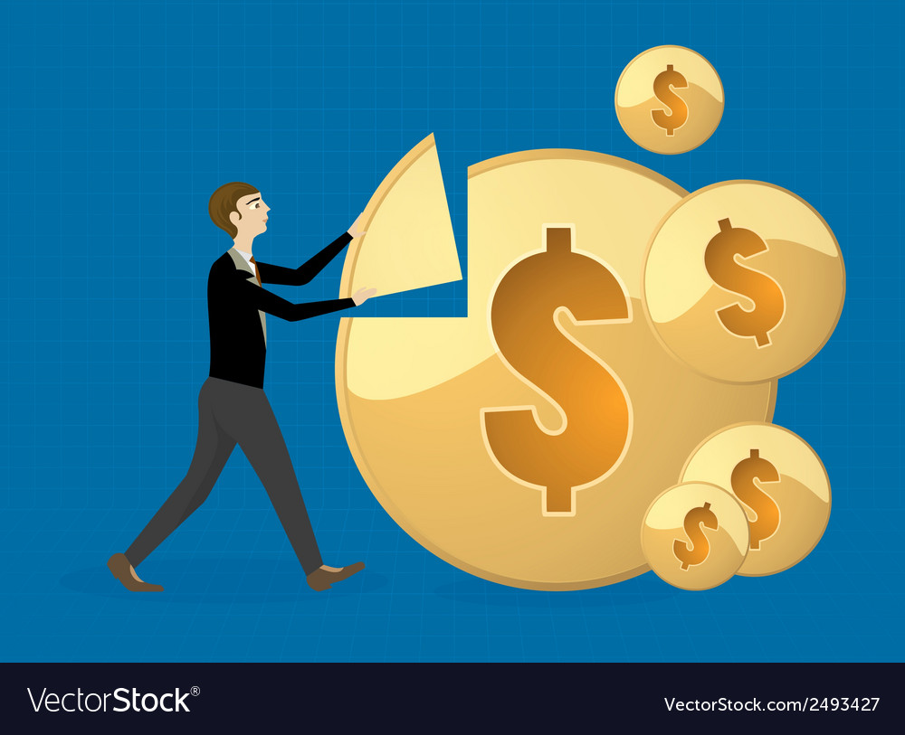 Make money vector | Price: 1 Credit (USD $1)