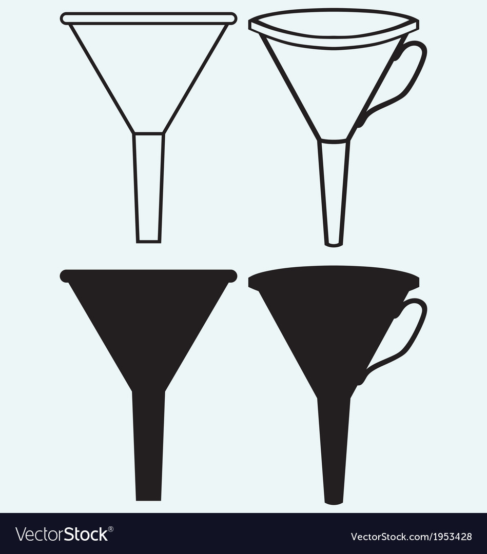 Funnel made vector | Price: 1 Credit (USD $1)