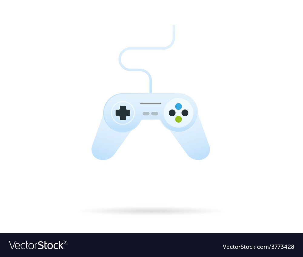 Gamepad icon vector | Price: 1 Credit (USD $1)