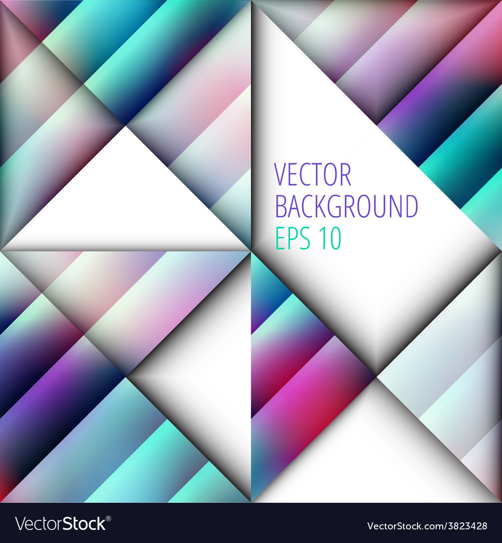 Geometric background for text design vector | Price: 1 Credit (USD $1)