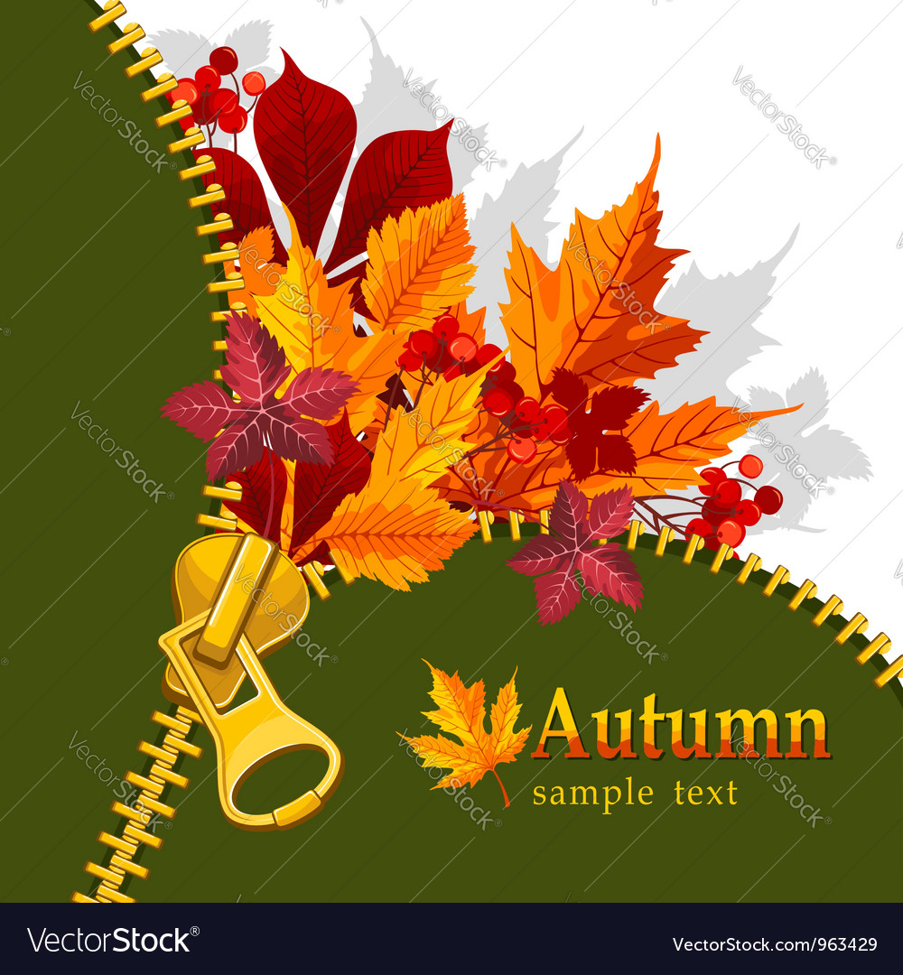 Autumn background vector | Price: 1 Credit (USD $1)