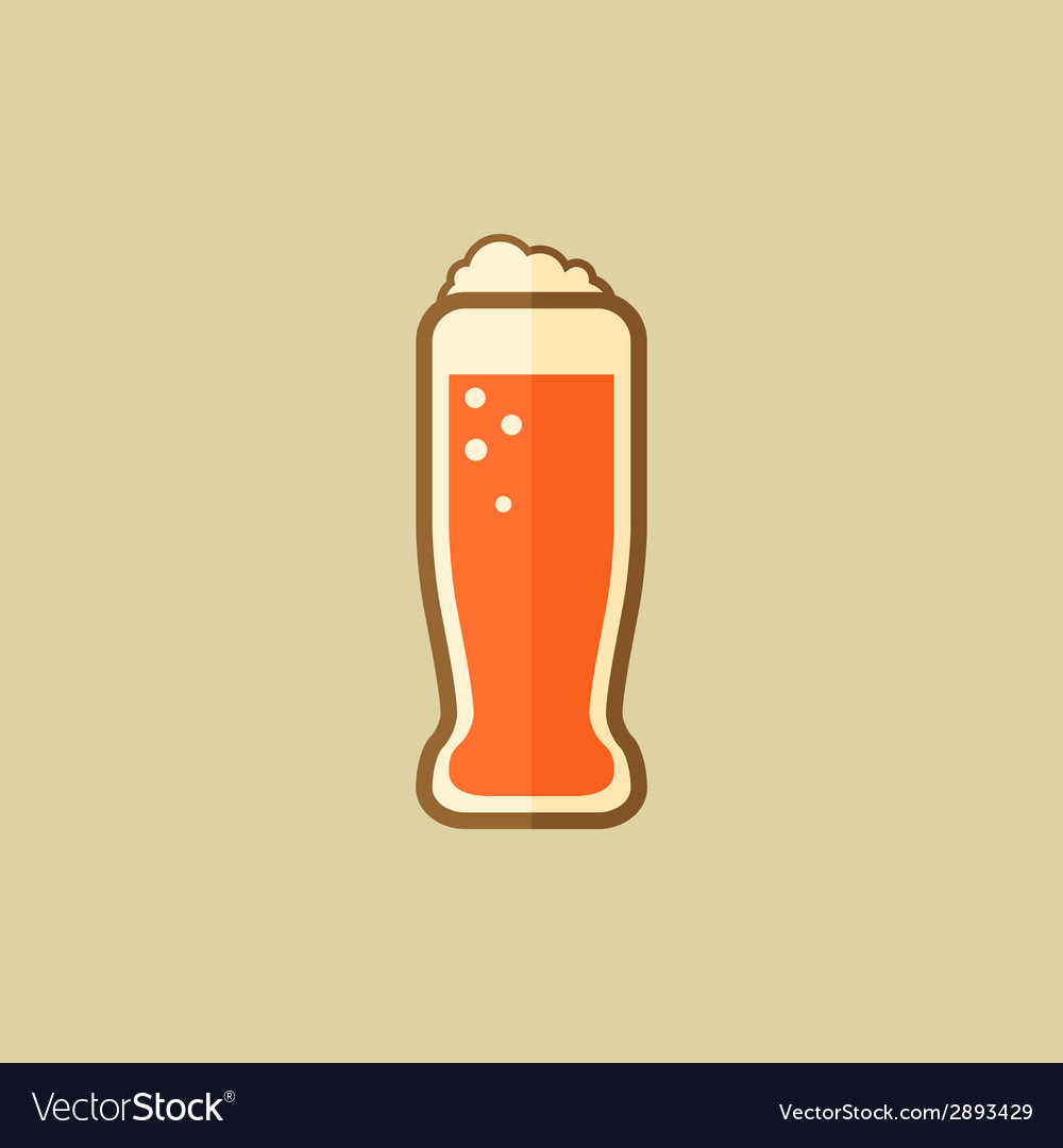 Beer food flat icon vector | Price: 1 Credit (USD $1)