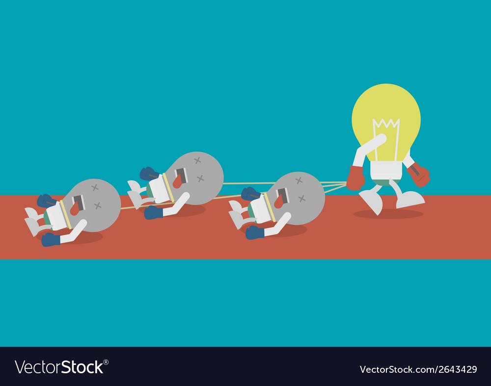 Lightbulbdrag vector   Price: 1 Credit (USD $1)