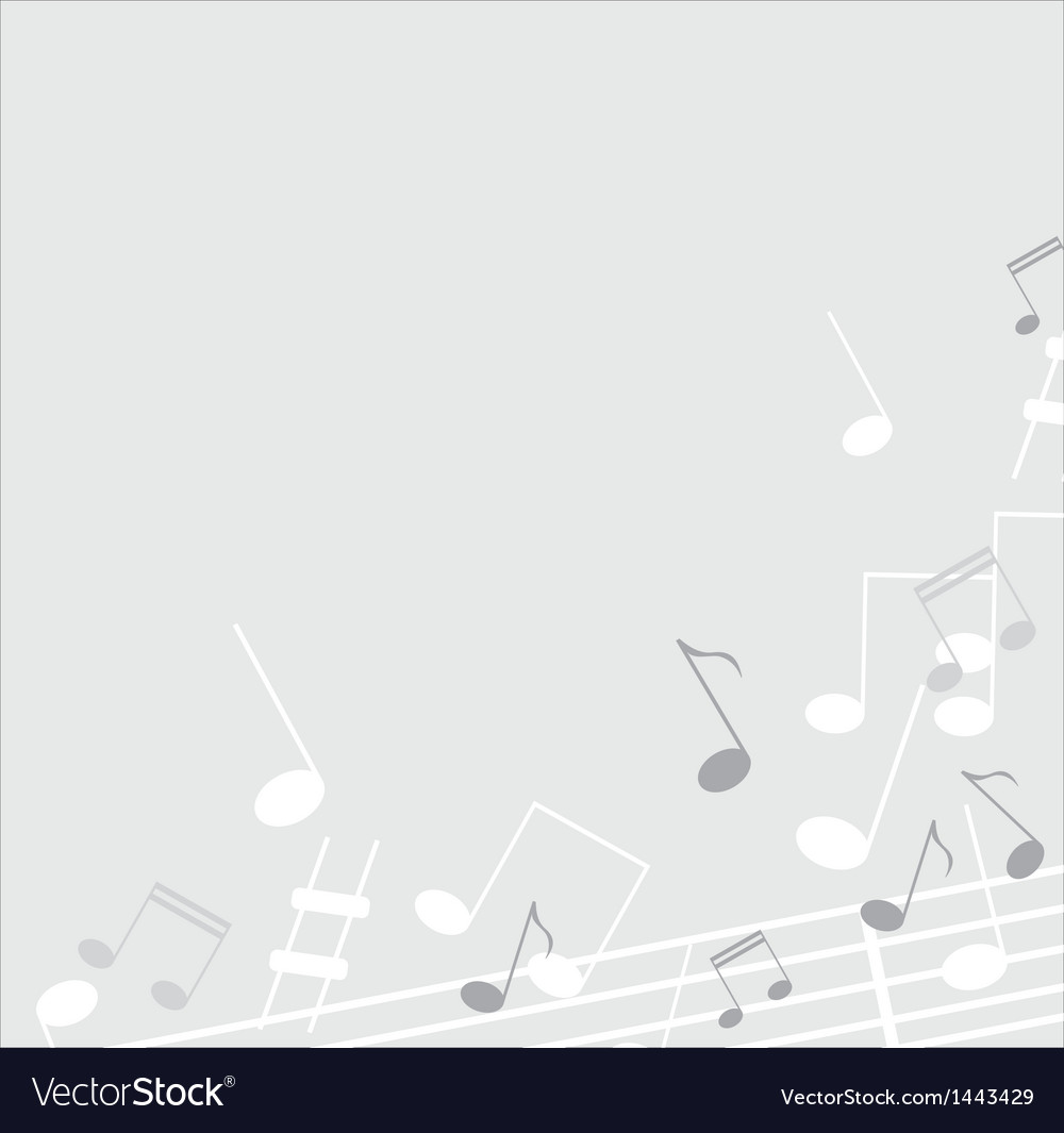 Music note background vector | Price: 1 Credit (USD $1)