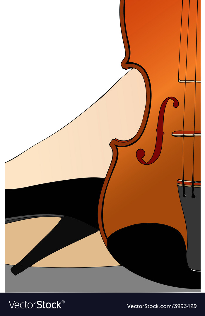 Women in music vector | Price: 1 Credit (USD $1)