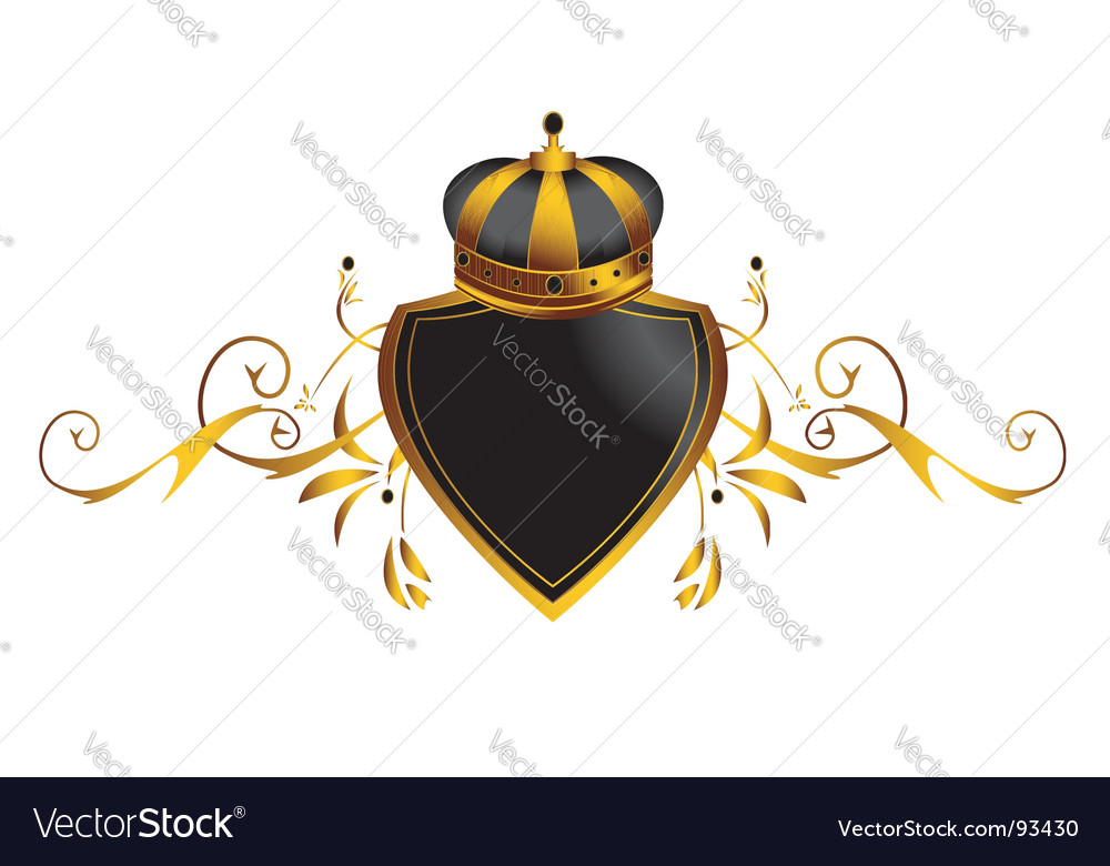 Gold crown image vector | Price: 1 Credit (USD $1)