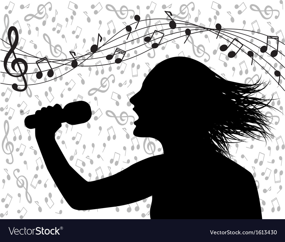 People singing and musical lineup vector | Price: 1 Credit (USD $1)