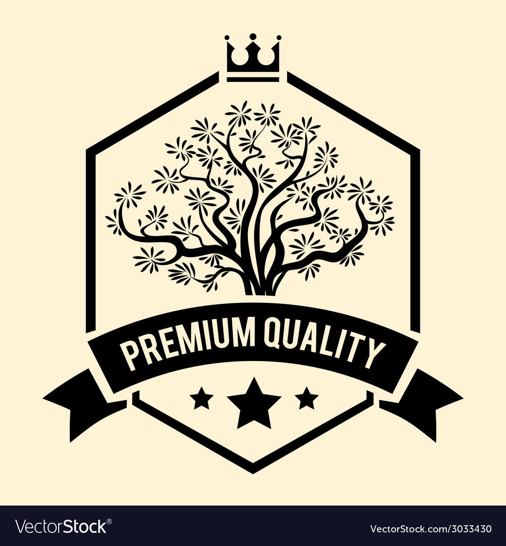 Premium quality badge or label for olive oil vector | Price: 1 Credit (USD $1)