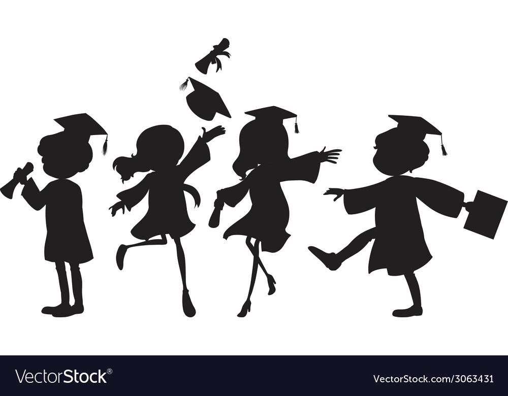 Graduation vector | Price: 1 Credit (USD $1)