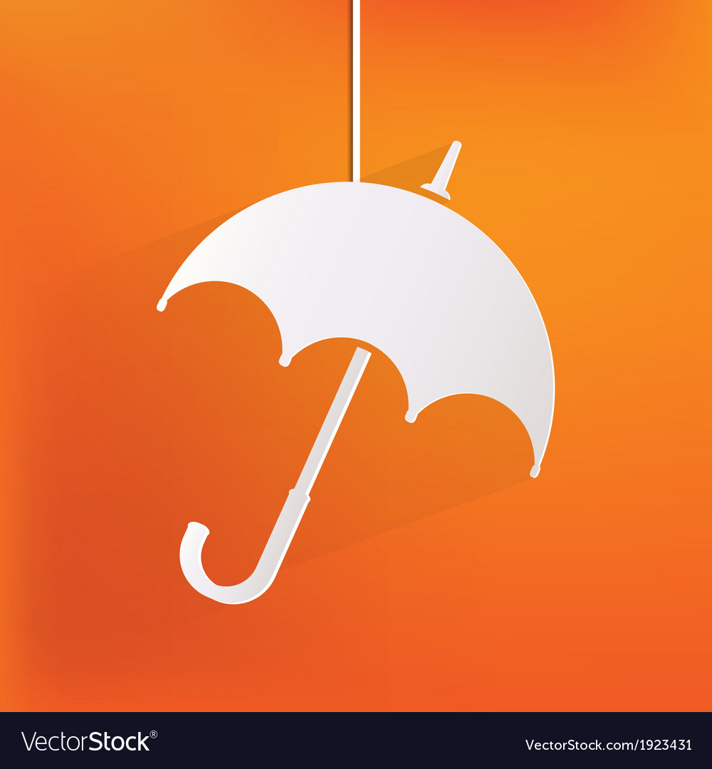 Umbrella icon vector | Price: 1 Credit (USD $1)