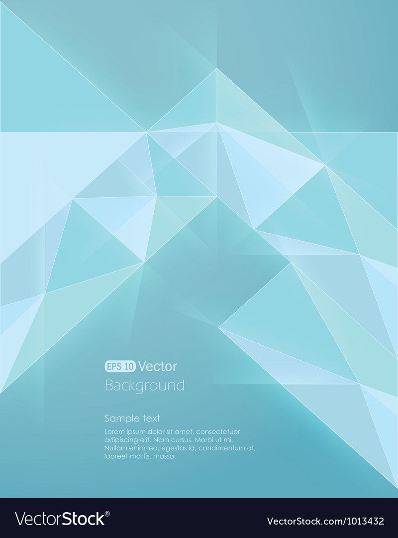 Abstract light blue background diamond style vector | Price: 1 Credit (USD $1)
