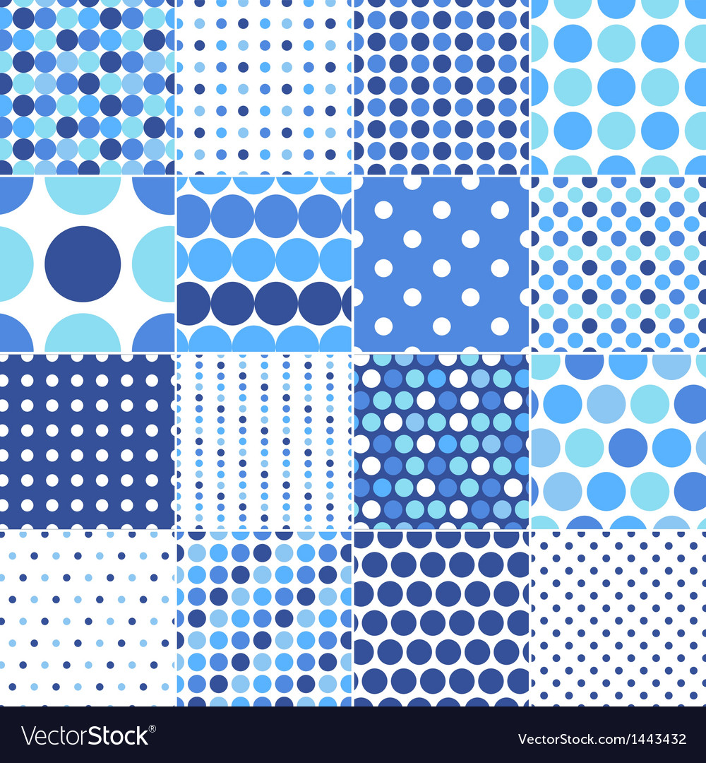 Circular polka dots background texture vector | Price: 1 Credit (USD $1)