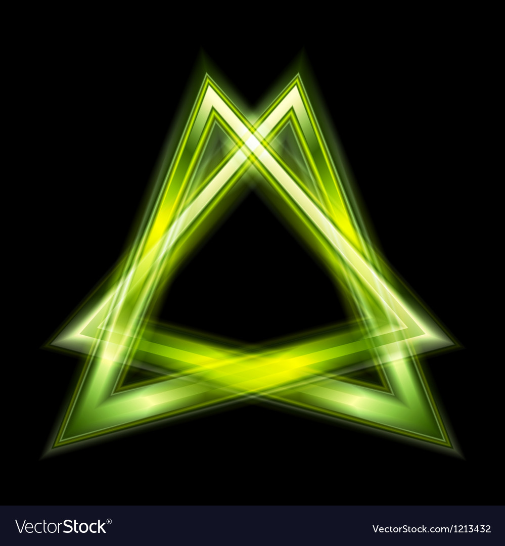 Green triangle shape vector   Price: 1 Credit (USD $1)