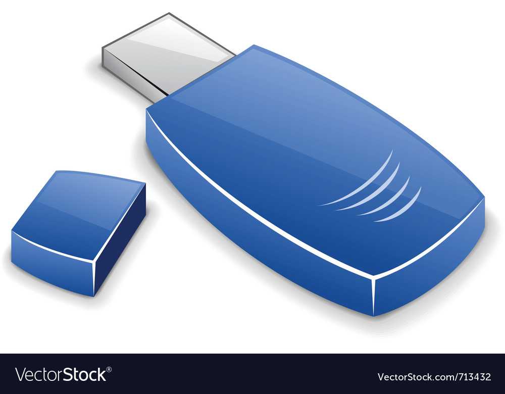 Usb memory card vector | Price: 3 Credit (USD $3)