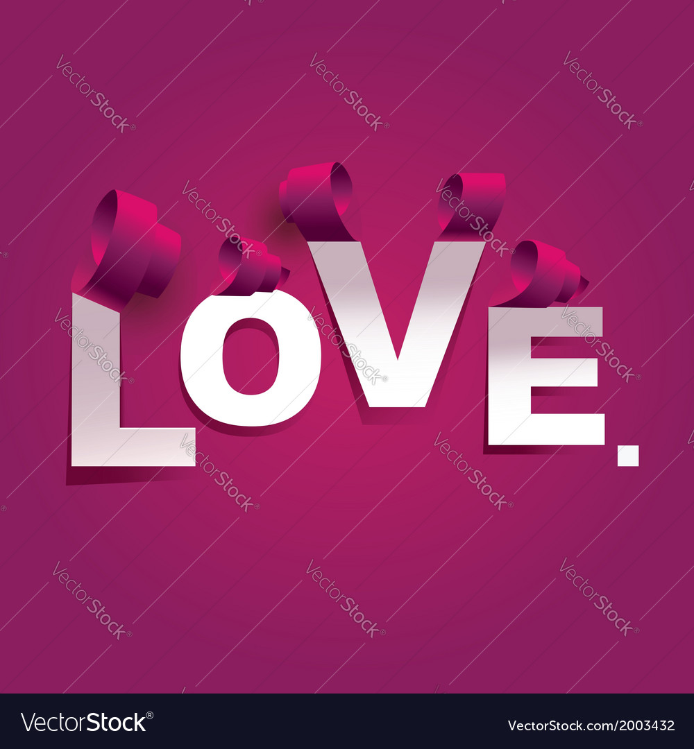 Valentines day postertypography vector | Price: 1 Credit (USD $1)