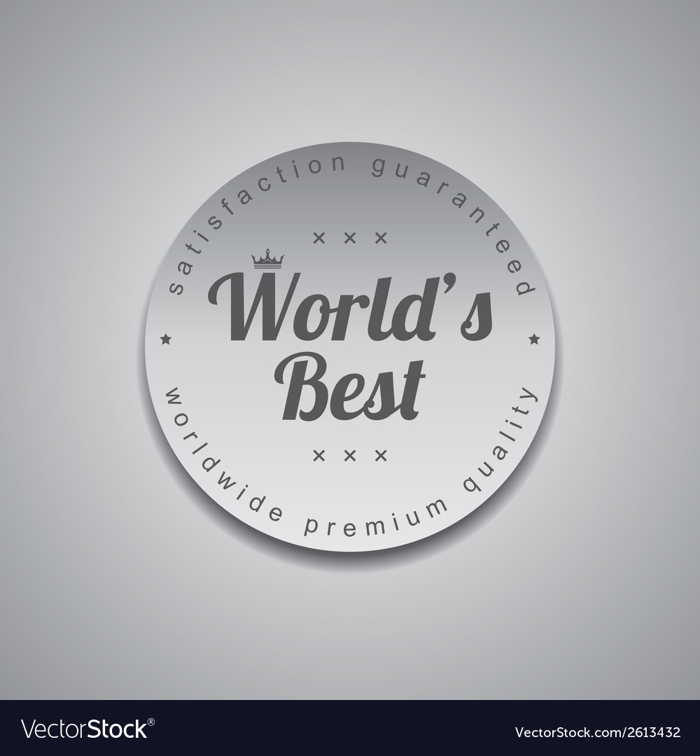 Worlds best vector | Price: 1 Credit (USD $1)
