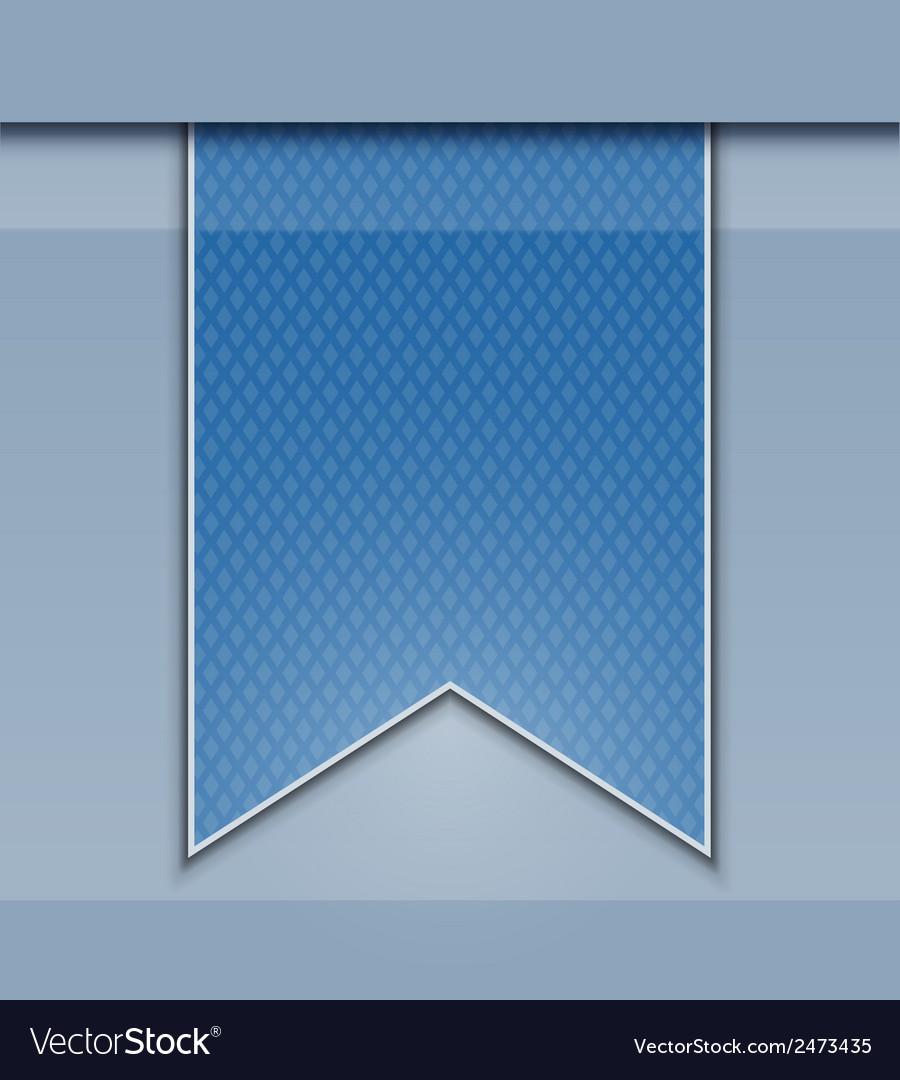 Bookmark decoration ribbon vector | Price: 1 Credit (USD $1)