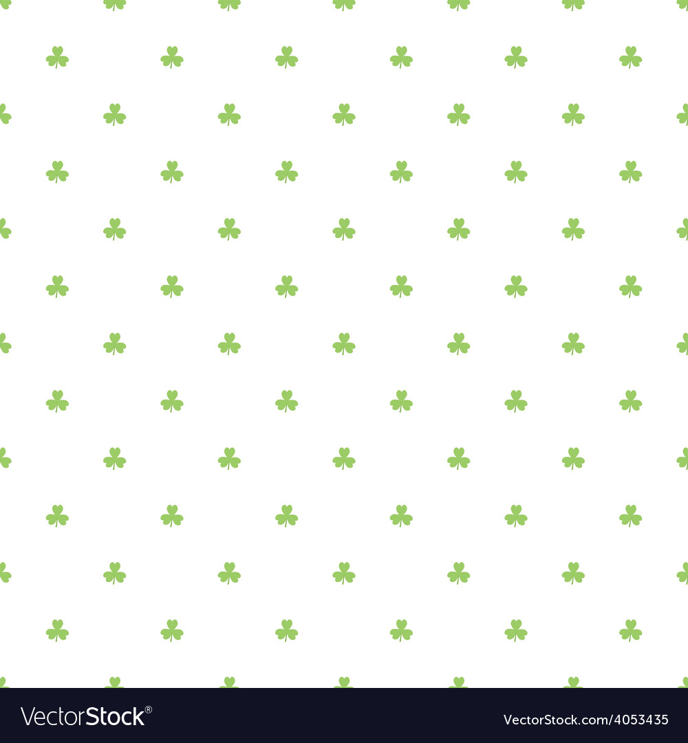 Day patrick festive background pattern green vector | Price: 1 Credit (USD $1)